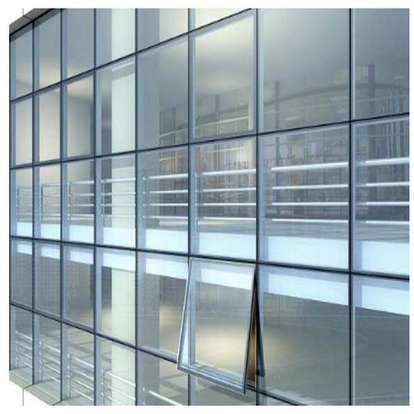 Muro cortina de aluminio