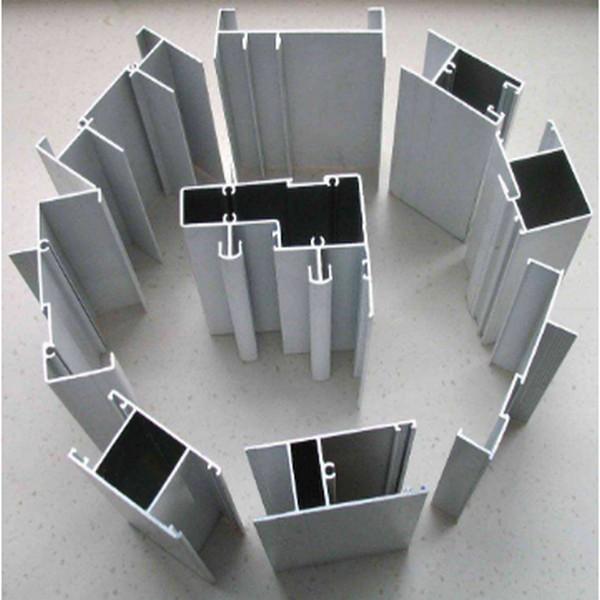 Soporte personalizado Materiales de construcción de extrusión de perfiles de aluminio