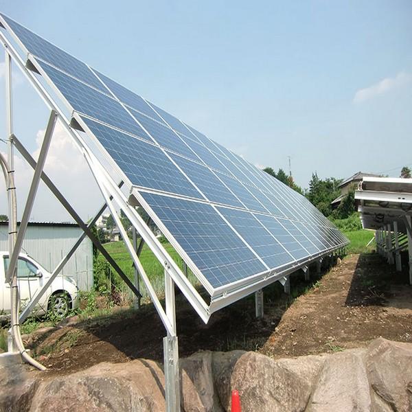 Solar de aluminio soporte de aleación